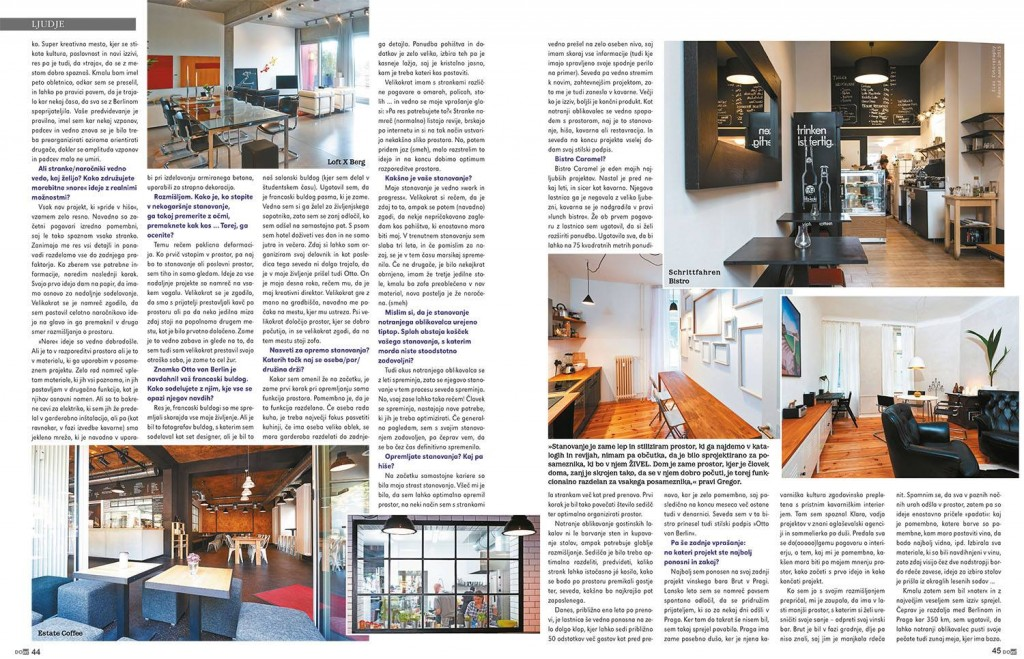 Otto von Berlin Interview Interior Design DOm2