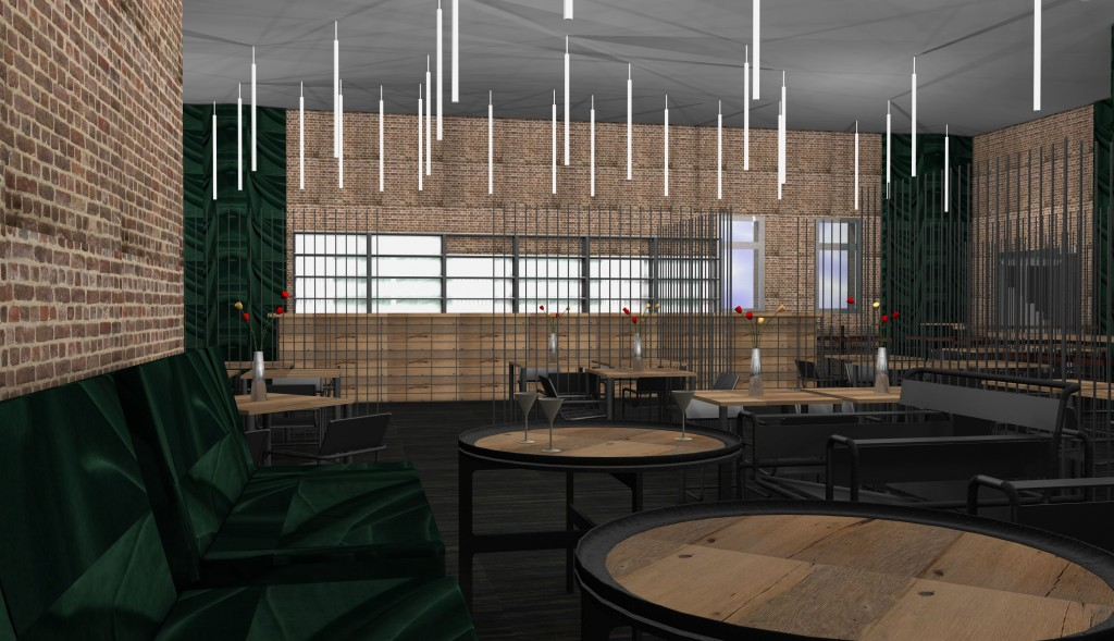 One of our renderings for a restaurant we plan on implementing – Photo: Otto von Berlin